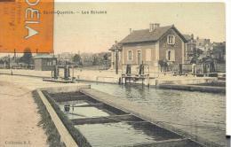 Saint- Quentin - Les Ecluses , Bon état ( Voir Scan ) - Saint Quentin