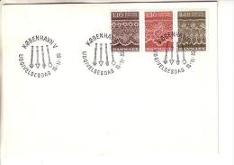 GOOD DENMARK FDC 1980 - Lace - FDC