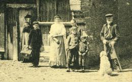 Litho Ypres Ieper Maison En Bois Rue De Lille Persona Person Feldpost 23.6.1915 - Ieper
