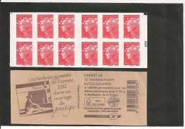 CARNET 590 C 13 A  AVEC  CARRE NOIR Sur N° 099   NEUIF XX - Usage Courant