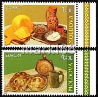 Moldova - 2005 - Europa CEPT, Gastronomy - Mint Stamp Set - Moldavia