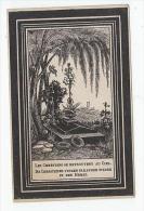 Doodsprentje Bernardus DE GROOTE Wed. Coleta De Schryver Seveneeken 1897 In De Ouderdom Van 88 Jaar (Lokeren) - Images Religieuses