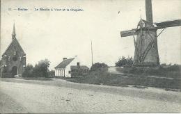 Eeklo / Eecloo - Topkaart - Le Moulin à Vent Et La Chapelle / Windmolen - 1910 ( Verso Sien ) - Eeklo