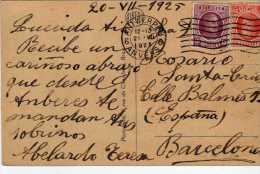 1132 Postal Antwerpen 1925 Belgica - Bélgica