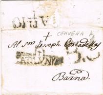6143. Carta  Entera Pre Filatelica TALLADELL (Lerida) 1801 - ...-1850 Voorfilatelie