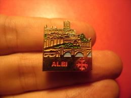 PIN´S ALBI Dpt 81 Tarn - Cities