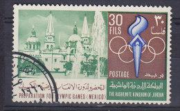 Jordan 1967 Mi. 662    30 F Olympische Sommerspiele Olympic Games, Mexico City - Jordanie