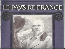Revue Le Pays De France N°1 Du 10 Mai 1914 Poincaré En Visite Dans Le Limousin - History