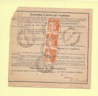 Bulletin D´expedition - Type Paix - Maizieres Les Metz - 13-5-1937 - 1932-39 Peace