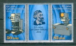 DDR - Mi-Nr. W ZD 802 - 100 Jahre Carl-Zeiss-Stiftung Postfrisch - [6] República Democrática
