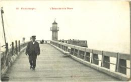 Blankenberghe. L'Estacade Et Le Phare - & Lighthouse - Blankenberge