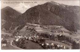 VAL PASSIRIA ( Presso Merano )  S.LEONARDO ,  Cartolina Anni'40 , Scritta Datata 1944 , Non  Viaggiata - Bolzano (Bozen)