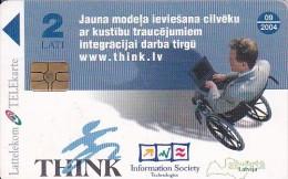 Latvia, D-089, Project THINK, 2 Scans. - Latvia