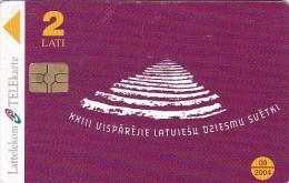 Latvia, D-092, Latvian Song Festival, 2 Scans. - Latvia