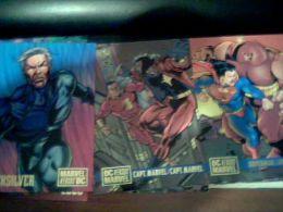 Lot De 22 Cartes Marvel Versus Dc,1995,et Check List - Marvel