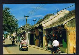 RB 956 -  Ethnic Vietnam Postcard - An Ancient Street  - Cho Thi Xa - Vietnam