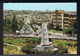 RB 956 - Jordan Postcard - Third Circle & Shmeisane Tunnel - Amman - Jordan
