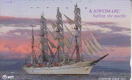 JAPAN - Sailing Boat(250-468), 06/90, Used - Bateaux