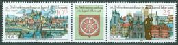 DDR - Mi-Nr. 3173 + 3175 Dreierstreifen Postfrisch - DDR