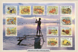 Cook Island, Stamps Of The Cook Island, Circulé Non - Cook