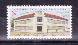 ANGOLA  1967  Carmona 50 Years  ,  Y&T  # 540,    Cv  0.30   E ,  * MVLH - Angola