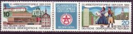 DDR - Mi-Nr. 2880 - 2881 Arbeiterfestspiele Der DDR, Bezirk Gera Postfrisch - DDR