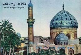 AK IRAK  IRAQ  MAIDAN MOSQUE - BAGDAD  GROSSE FORMAT  FOTOGRAFIE OLD POSTCARD - Irak