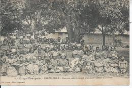 CONGO FRANCAIS - BRAZZAVILLE - Femmes Catéchumènes Attendant L'arrivée Du Bateau - Brazzaville