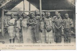 CONGO FRANCAIS - SAINT LOUIS DE L'OUBANGHI - Femmes Catéchumènes De La La Mission - Kanaka Et Sa Pipe - Congo Français - Autres