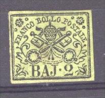 Italie  -  Eglise  :  Yv  2  (*) - Papal States