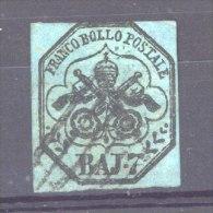 Italie  -  Eglise  :  Yv  8  (o) - Papal States