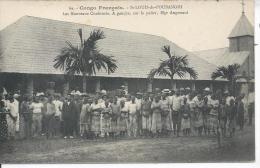CONGO FRANCAIS - SAINT LOUIS DE L´OUBANGHI - Les Nouveaux Confirmés - Congo Français - Autres
