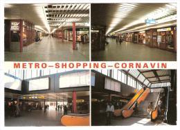 GENEVE CORNAVIN,Suisse: METRO SHOPPING :Les Galeries Marchandes De La Gare; TGV Buffet Express,Enseigne Parfumerie, TTB! - Gares - Sans Trains