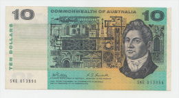 Australia 10 Dollars 1968 VF+ P 40c  40 C (Phillips Randall) - 1966-72 Reserve Bank Of Australia