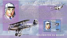 cdr0601a R.D.Congo 2006 Les Grands Aviateurs Great Aviators s/s Airplane Antoine de Saint-Exupery