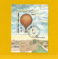 REP FEDERALE ISLAMIQUE DES COMORES ,,, TRANSPORT DE  COURRIER.  ,, **  500 F. **  ,, POSTE 1983 ,, TBE - Comores (1975-...)