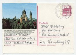 GERMANY - AK 179495 P 1/4 20 000 1.85 Paderborn - Cartoline Illustrate - Usati