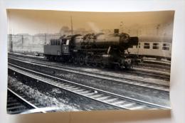 Cliché  Loco Vapeur Gare à Situer Col Schnabel - Matériel