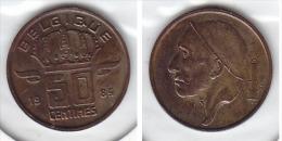 50 CENTIMES Bronze Baudouin 1985 FR - 1951-1993: Baudouin I