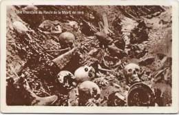 Une Tranchée Au Ravin De La Mort 1919 - Zonder Classificatie