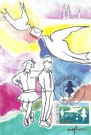 PAYS DE LA LOIRE  - 49 - MAINE ET LOIRE - CHOLET - PHILEX JEUNES - 1991 - Cartoline Maximum