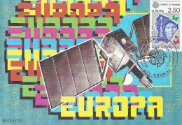 973 - GUYANE - KOUROU - EUROPA 1991 - 2,50 - Cartoline Maximum