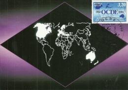 ILE DE FRANCE - 75 - PARIS - 1990 - 30 Ans OCDE - Cartoline Maximum