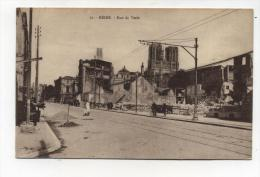 CPA  51: REIMS  Rue De Vesle   1922  A  VOIR  !!!!!!! - Reims