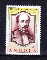 ANGOLA 1969 ,   Luiz Da Silva - Reformer  ,     Y&T # 558,      Cv  0.30  E ,     * MVLH , V V F - Angola