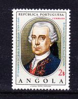 ANGOLA 1969 ,  Novo Redondo Town 200 Years ,     Y&T # 555      Cv  0.45  E ,     * MVLH , V V F - Angola