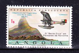 ANGOLA 1972 , Lisbon - Rio De Janeiro First Flight  ,     Y&T # 579   Cv  0.30  E ,     * MVLH , V V F - Angola