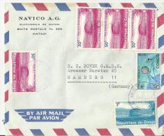 CONGO R. DEM. 1967 CV. Mef - Dem. Republik Kongo (1964-71)