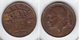 50 CENTIMES Bronze Baudouin 1976 FL - 1951-1993: Baudouin I