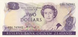 BILLET # NOUVELLE - ZELANDE #1981 # 2 DOLLARS  # PICK 170 A  # NEUF # - New Zealand